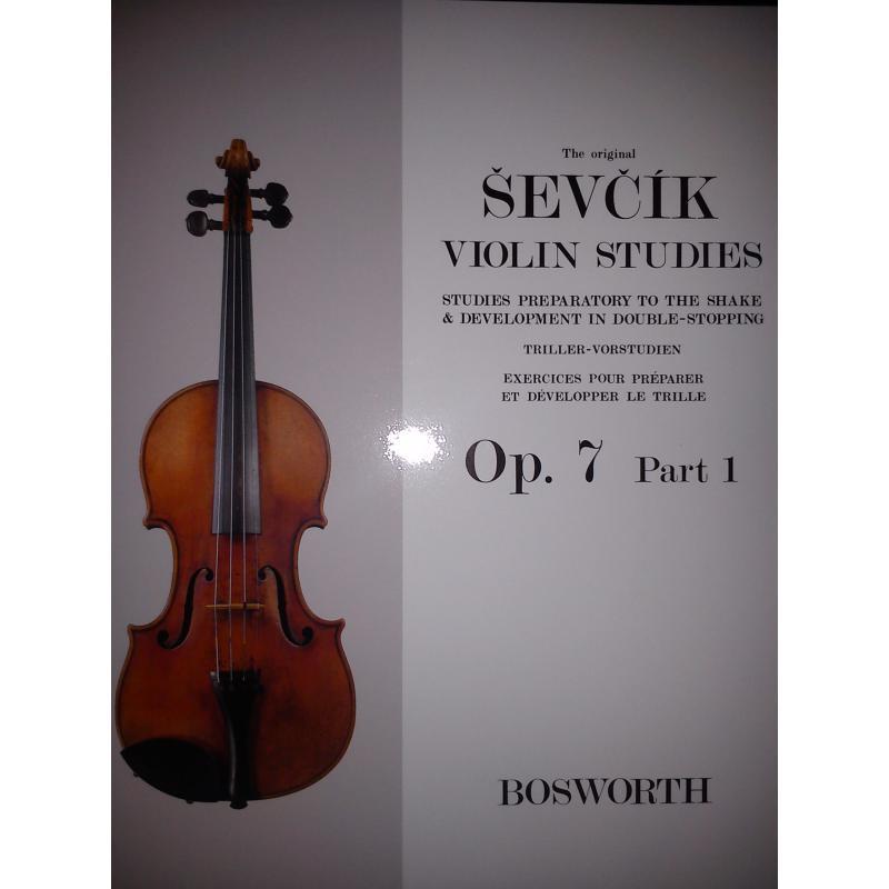 Sevcik violin studies op 7 part 1