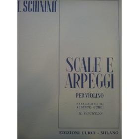 Luigi Schininà - Scale e Arpeggi per Violino (Vol. 2)