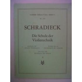 Schradieck - Die Schule der Violintechnik vol 2