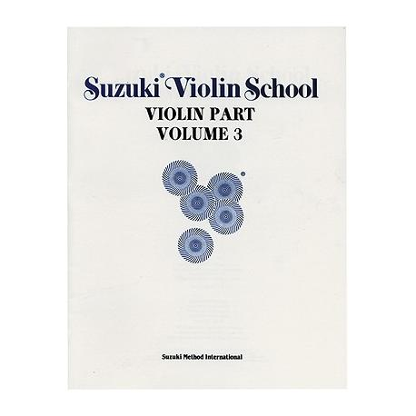 Zuzuki - violin school volume 3