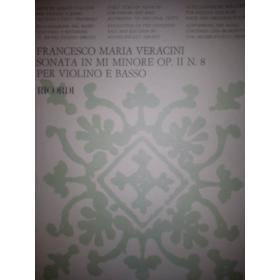 Veracini - sonata in mi minore op.2 n 8 per violino e basso