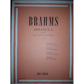 Brahms - sonata n.2 op 100 per violino e pianoforte