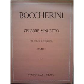 Boccherini - Celebre minuetto per violino e pianoforte