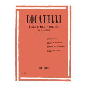 Pietro Locatelli - L'Arte del Violino (25 Capricci)