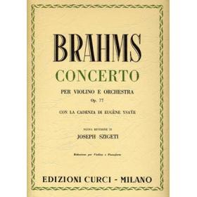 Brahms - concerto per violino e orchestra