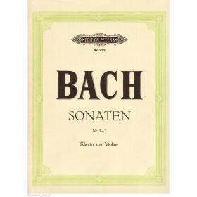 Bach - sonaten 1-3 for klavier und Violine