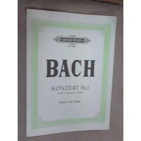 Bach - Konzert nr.1