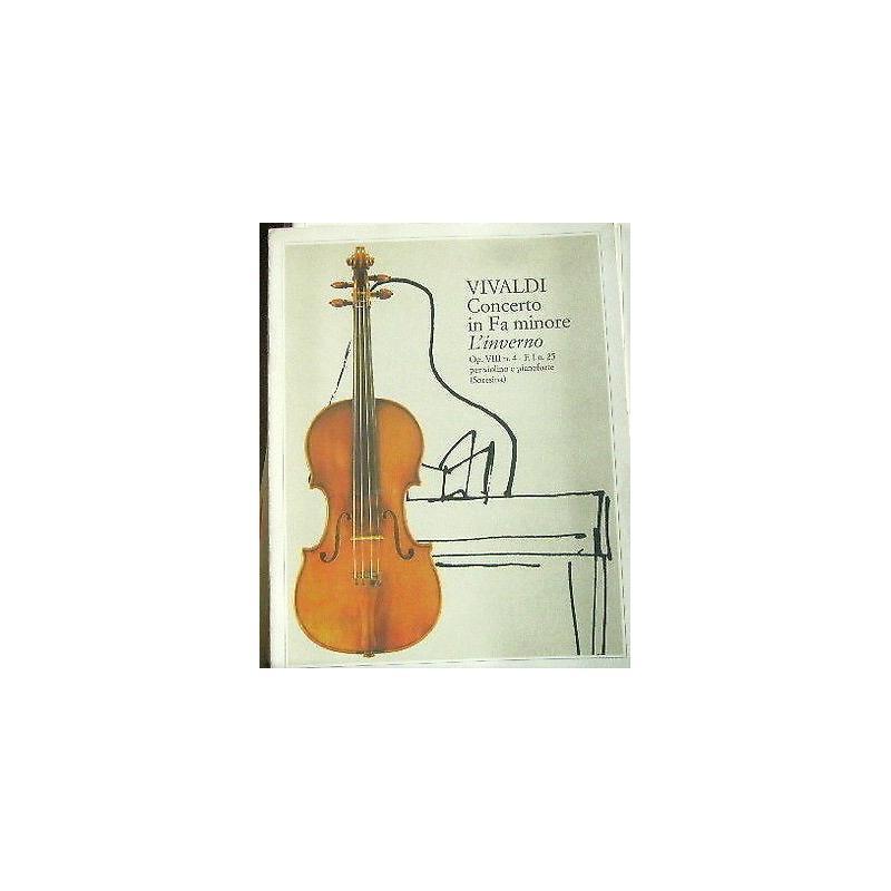 Vivaldi - Concerto in fa minore - l'inverno