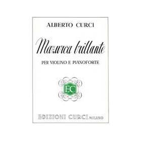 Curci - Mazurca brillante per violino e pianoforte