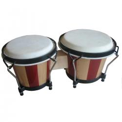 COPPIA BONGOS SOUNDSATION SB-NW10-WS WOOD STRIPES