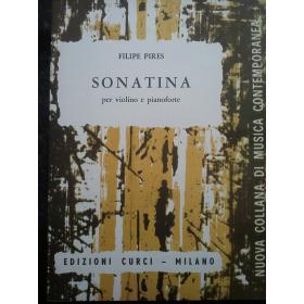 Pires - sonatina per violino e pianoforte