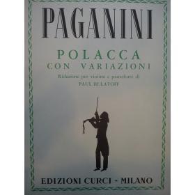 Paganini - polacca con variazioni
