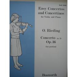 Easy concertos and concertinos op 36