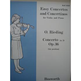 Easy concertos and concertinos op 36