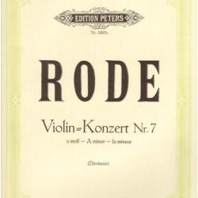 Rode - violin konzert nr.7