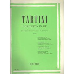 Tartini - concerto in re