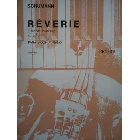 Schumann - reverie para violin y piano