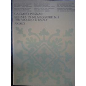 Pugnani - sonata in mi maggiore n 1 violino e basso