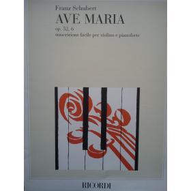 Schubert - Ave Maria op 52,6