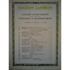 AAVV - celebri composizioni trascritte e diteggiate per violino e pianoforte