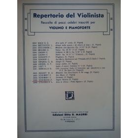 AAVV - Repertorio del violinista