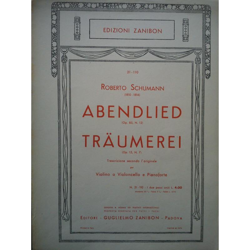 Schumann - Abendlied traumerei