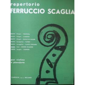 Scaglia - repertorio per violino e pianoforte