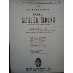 Kreisler - classical master works part 1