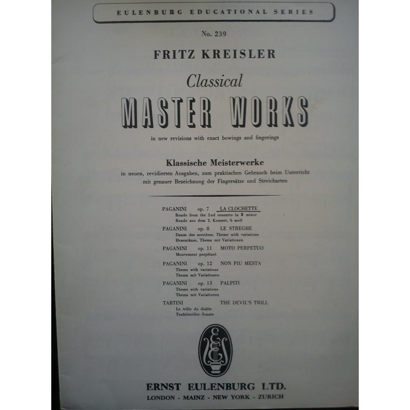 Kreisler - classical master works