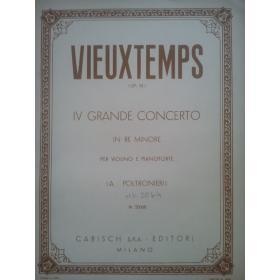 Vieuxtemps - 4 grande concerto per violino e pianoforte