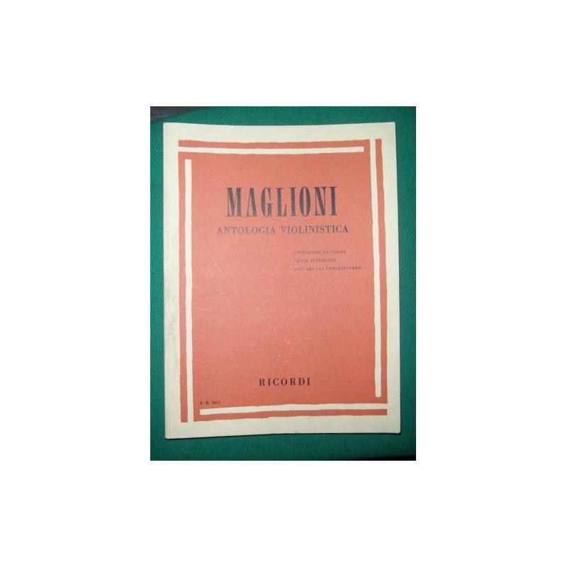 Maglioni - Antologia violinistica