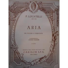 Locatelli - Aria per violino e pianoforte