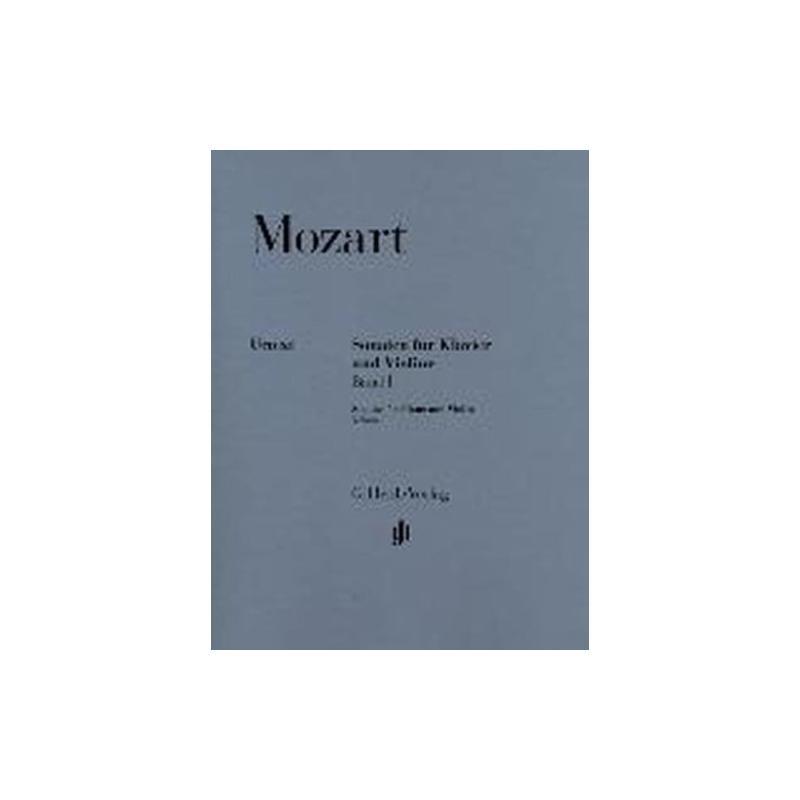 Mozart - sonaten fur klavier und violine band 1