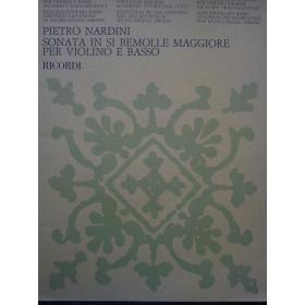 Nardini - Sonata in si bemolle maggiore per violino e basso