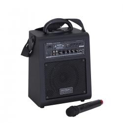 PA SYSTEM A BATTERIA DJTECH UCUBE C60 BT CON MP3 E BLUETOOTH