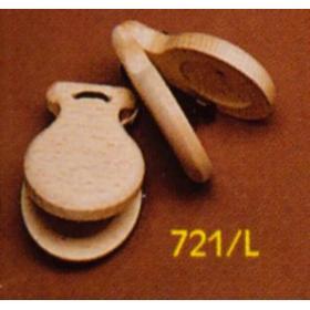COPPIA NACCHERE 721/L IN LEGNO