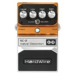 PEDALE HARDWIRE SC-2 VALVE DISTORTION