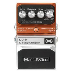 PEDALE HARDWIRE DL-8 STEREO DELAY/LOOPER