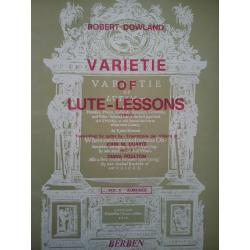Dowland - varietie of lute lesson volume 2