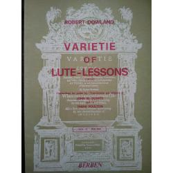 Dowland - Varietie of lute lesson volume 3