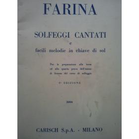 Guido Farina - Solfeggi Cantati
