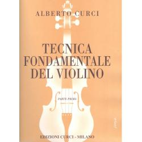 Curci - tecnica fondamentale del violino parte prima