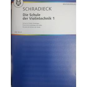 Heinrich Schradieck – Die Schule der Violintechnik 1