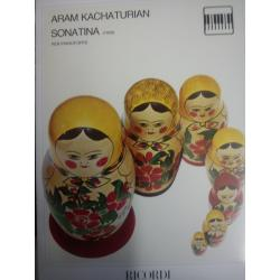 Aram Kachaturian . Sonatine