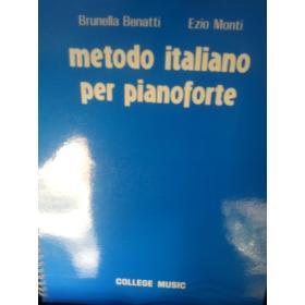Bruno Benatti – Ezio Monti – Metodo per pianoforte