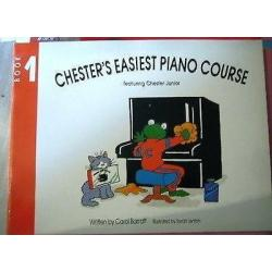 Barrat - Chesters easiest piano course book 1