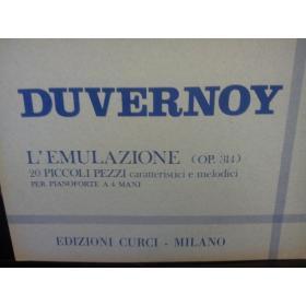 USATO Duvernoy – L'emulazione op 314