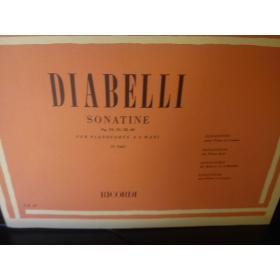 Diabelli – Sonatine op 24,54,58,60