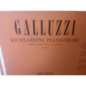 Galluzzi – Ricreazioni pianistiche 1 serie