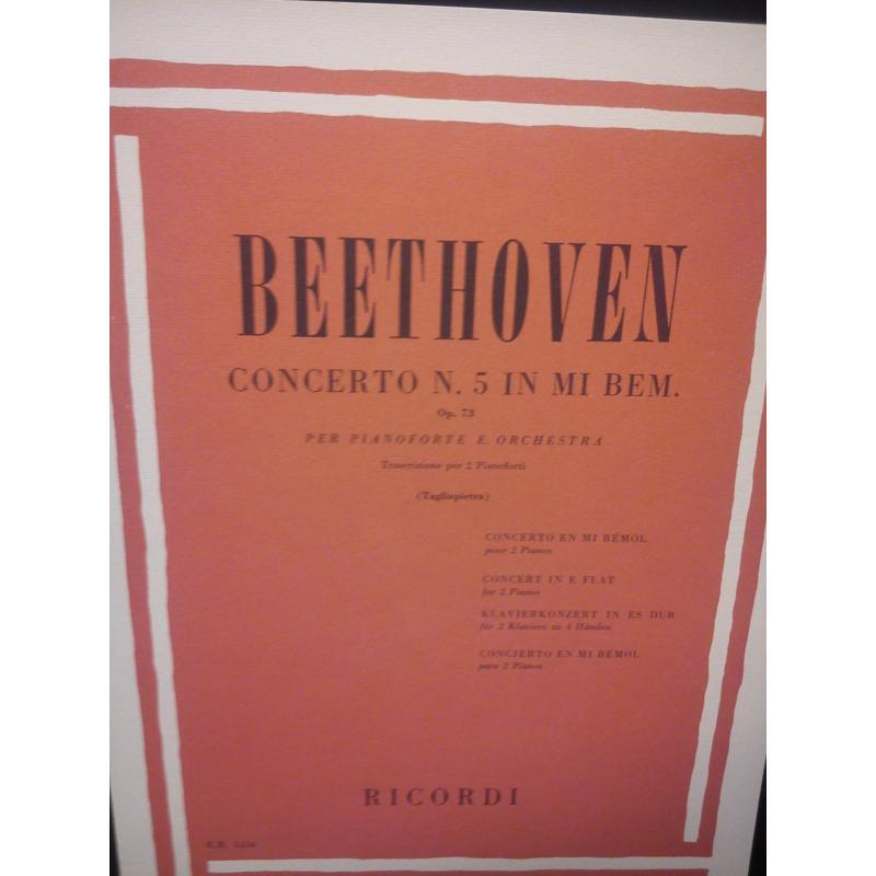 Beethoven – Concerto n.5 in mi bem op 73